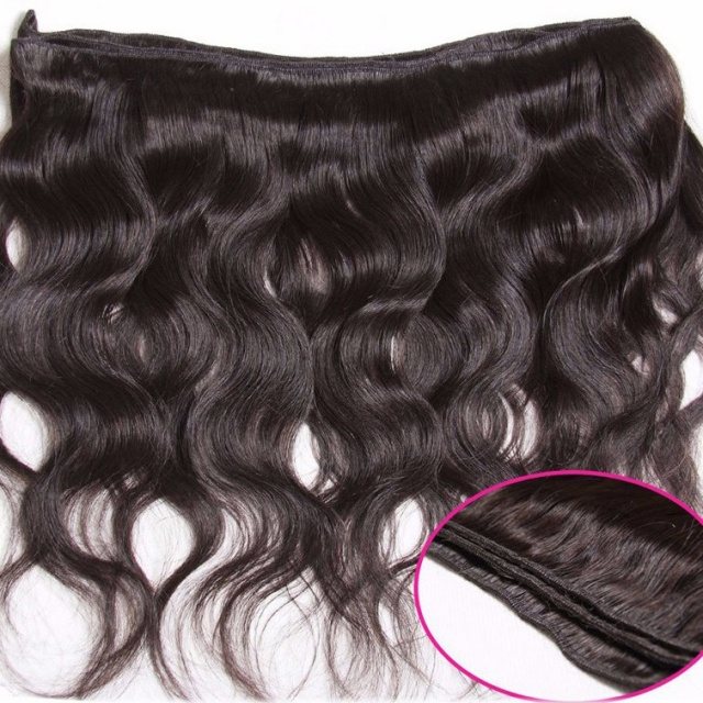 Beautiful Wavy Natural Peruvian Hair Extension