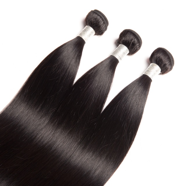 Beautiful Straight Natural Brazilian Hair Extension